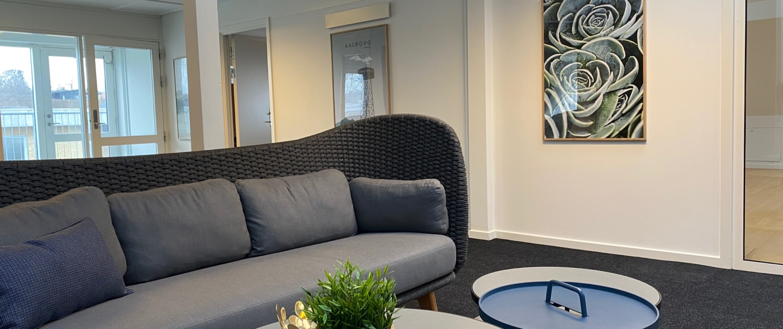 Loungeområde på 2. sal